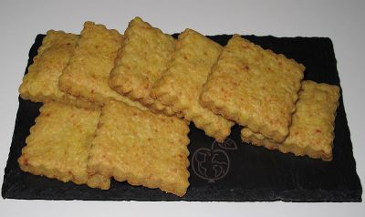 Crackers de mozarella