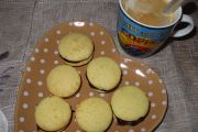 Whoopies de Naranja y chocolate