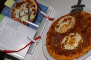 Pizza de Beicon, Huevo y mozzarella