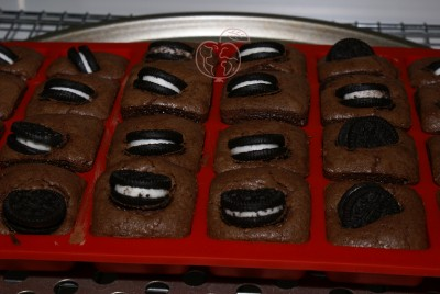 Brownier de Chocolate y Oreo minis