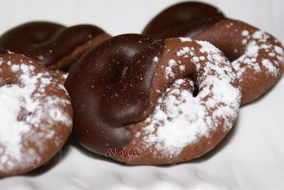 Pretzels de Chocolate